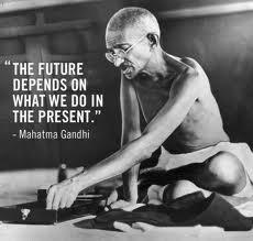 Peace,change, gandhi